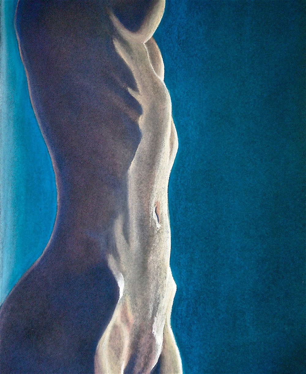 Chrissy Thirlaway, Dance Till You Drop, Pastel on paper, 33x47cm