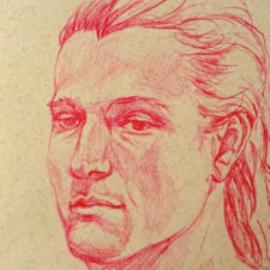 Chrissy Thirlaway, Life 14 series 8, Pencil on paper, 21x29cm