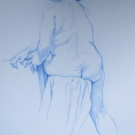 Chrissy Thirlaway, Life 2 series 7, Pencil on paper, 25x32cm