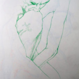 Chrissy Thirlaway, Life 2 series 9, Pencil on paper, 25x32cm