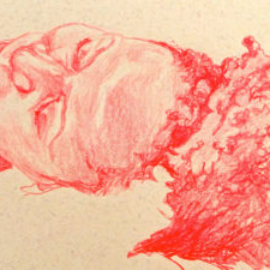 Chrissy Thirlaway, Life 4 series 8, Pencil on paper, 21x29cm